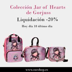 """Atención: Último día para conseguir tu artículo favorito de la colección """"Jar Of Hearts"""" de Gorjuss con un 20% de descuento!!! @sueshop_es #gorjuss #santorolondon #liquidacion #oferta #descuento #sueshop"""
