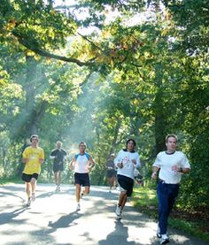 Enjoy running at The Morton Arboretum.  Arbor Day 10K in 2015 is Sunday, April 19.