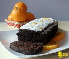 Plumcake al cioccolato e arancia (ricetta solo fecola)
