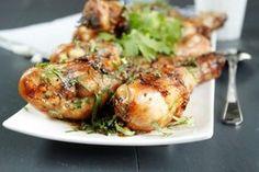 Pilons de poulet à la thai à l'Actifry Good Ol, Summary, Barbecue, Main Dishes, Fries, Turkey, Lunch, Chicken, Meat
