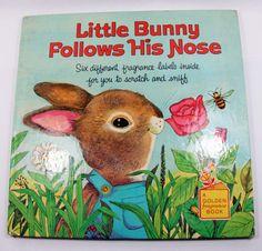 Vintage 1971 Little Bunny Follows His Nose.