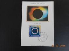 Carte Maximum - Eclipse de soleil - 8/7/1999 PARIS