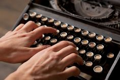 """#amwriting."" 