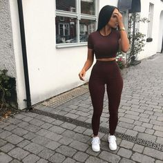 Baddie Outfits – Page 9692908814 – Lady Dress Designs Chill Outfits, Sporty Outfits, Swag Outfits, Cute Casual Outfits, Summer Outfits, Fashion Outfits, Womens Fashion, Kaki Outfits, Ladies Fashion