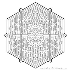 geometry coloring pages 502 Best coloring   geometric/abstract images | Coloring pages  geometry coloring pages