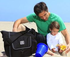 Diaper Bag Messenger Style Tote Great For Dads Too NEW #DDSport