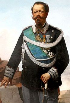 Re Vittorio Emanuele II. I'm so old that when I gave my first kiss with all my heart, he was there