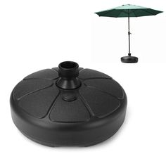 IPRee™ 38mm Outdoor Garden Beach Umbrella Stand Plastic Parasol Base Patio Furniture