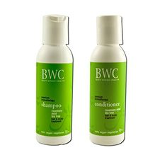 BWC Trial and travel Minis Rosemary and Tea Tree and Mint Shampoo and BWC Trial and travel Minis Rosemary and Tea Tree and Mint Conditioner Bundle 2 fl oz 59 ml each >>> Click image to review more details.(This is an Amazon affiliate link)