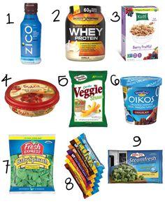 9 Healthy On-the-go Snacks!