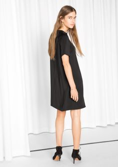 & Other Stories image 3 of A-line Dress in Black
