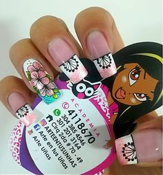 Love Nails, My Nails, Semi Permanente, Manicure, Nail Designs, Nail Art, Beauty, Dress, Fashion