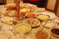 Christmas Eve - January 6th. dinner