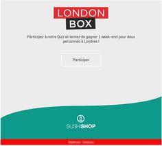 SushiShop - Facebook - Quiz #Socialshaker