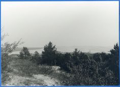 Nidden, Blick über die Düne auf das Haff