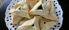 Traditional Jewish Hamentashen Treats . #dessert #purim #pareve #jewishfood #baking http://jewishfoodexperience.com/recipes/traditional-hamentashen/  #orangejuice #filleddesserts #hamentashen #jewishholidays