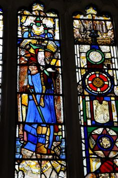 Rendcomb St Peter Nave north windows restored by Baillie 1854-5 -113  http://www.bwthornton.co.uk/a-midsummer-mouse.php
