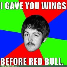 McCartney gives you Wings...
