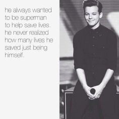 I wish he could see this. (: We love you, louis.
