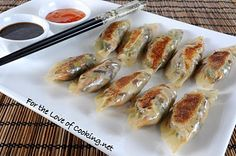 Veggie potstickers....I've made these a couple of times...they're fab!