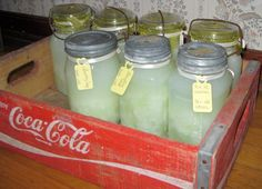 Soap in a Jar!