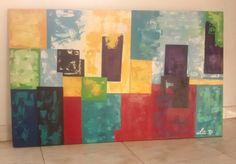 #Abstracto #Contemporaneo #Colorido #PinturaAcrilica #Espatula
