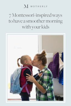7 Montessori-inspired ways to have a smoother morning with your kids Here are a few Montessori inspired ways you can use to help your child have an easier morning routine when going back to school. Back To School Clipart, Back To School Art, Back To School Bulletin Boards, Parenting Advice, Kids And Parenting, Potty Training Regression, Back To School Checklist, Pregnancy Guide, Montessori Toddler