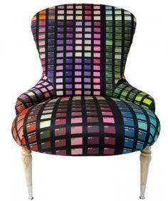 kleurrijke luxe stoel Door Neddy