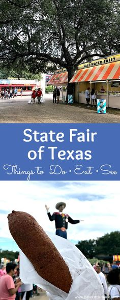 All the best things to do, see, and eat at the State Fair of Texas! Make the most of your visit to the Texas State Fair with these insider tips!