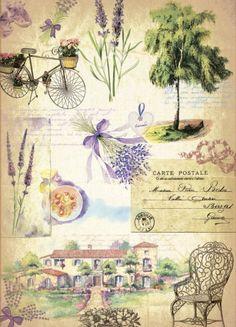 велосипед прованс рисунки - Поиск в Google
