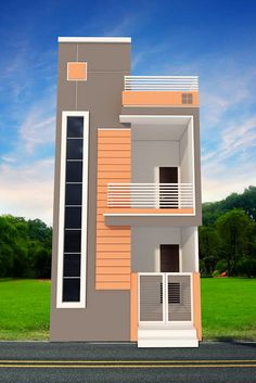 Front Wall Design Of House In India