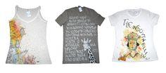T-shirt mix, handmade