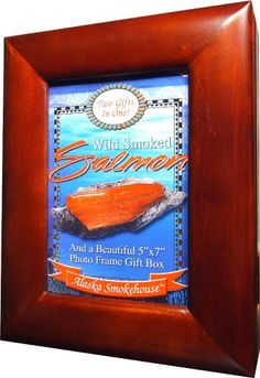 Alaska Smokehouse Smoked Sockeye Salmon Fillet in a Photo Frame Box, 8-Ounce Box - http://www.yourgourmetgifts.com/alaska-smokehouse-smoked-sockeye-salmon-fillet-in-a-photo-frame-box-8-ounce-box/