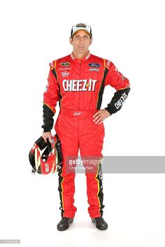 Sprint Cup Series driver Greg Biffle poses for a portrait during NASCAR Media Day at Daytona International Speedway on February 16, 2016 in Daytona Beach, Florida.