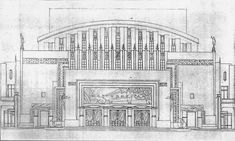 The Manila Metropolitan Theater building designed by the Filipino architect Juan Arellano and inaugurated on December 10, 1931