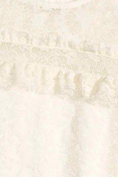 Robe en dentelle   H&M
