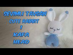 Mesmerizing Crochet an Amigurumi Rabbit Ideas. Lovely Crochet an Amigurumi Rabbit Ideas. Love Crochet, Diy Crochet, Crochet Crafts, Crochet Dolls, Crochet Baby, Easter Bunny Crochet Pattern, Crochet Rabbit, Rabbit Crafts, Rabbit Toys