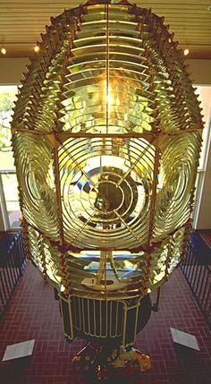 Michigan Lighthouse Conservancy description of Fresnel Lenses- This is a First Order Fresnel Lens