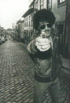 Phil Lynott of Thin Lizzy