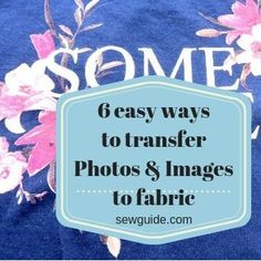 Best ways to turn a favourite PHOTO into an EMBROIDERY work - Sew Guide
