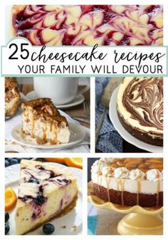 25 Cheesecake Recipe