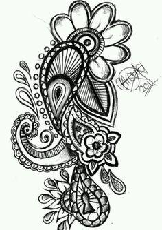 I love paisley designs!