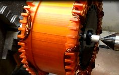 with RED stator. further improvement of air gap reduction to minimum is the next step