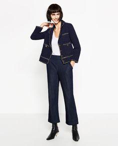 изображение 1 из ЖАКЕТ ТВИД от Zara