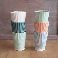 love these colors - villarrealceramics on Etsy
