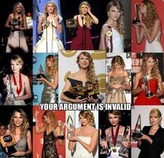 this is for everyone how says she sucks or isnt as good as everyone thinks. you cant win this many awards without deserving them