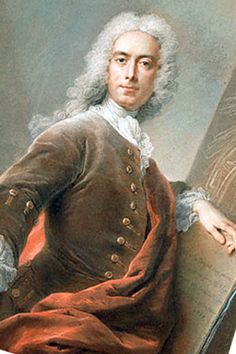 Multitalented Selfie! Charles-Antoine Coypel (11 July 1694 – 15 June 1752), 1734, was a French painter, art commentator, and playwright. He became premier peintre du roi and director of the Académie Royale in 1747. He received a number of commissions for paintings for the Palais de Versailles, and worked for Madame de Pompadour. He was an excellent tapestry designer. He wrote prose, several comedies, two tragedies, and some poetry