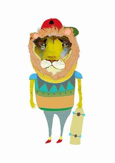 Ashley Percival komt uit de United Kindom. Hij tekent en schildert posters van dieren waar de karakters voortreffend uitkomen. Mooie, maar ...