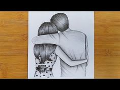 How to draw Romantic Couple with pencil sketch step by step Pencil Art Love, Beautiful Pencil Sketches, Cute Drawings Of Love, Art Drawings Sketches Simple, Girl Drawing Sketches, Art Drawings For Kids, Beautiful Drawings, Love Sketch, Drawing Step