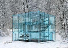 kubiskt glashus